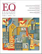 Current Issue of Educause Quarterly