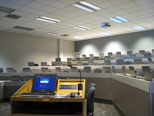 Figure 1 - A Technology-Enhanced Classroom