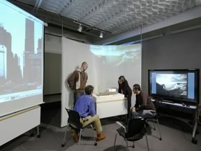 Figure 7. Media Space Classroom