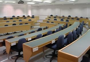 Raked Classrom