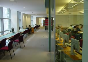 Figure 7. Cloister-like Corridor in Learning Resource Centre