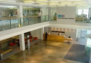 Figure 8. Cass Business School Lobby
