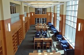 Figure 4. Reading Room with Natural Light