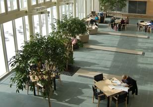 Figure 3. Science Center Main Atrium