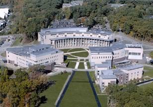 Figure 1. Aerial View of Olin College of Engineering
