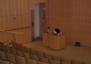 Figure 6. Auditorium