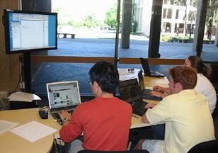 Figure 1. GroupSpace at Meyer Library