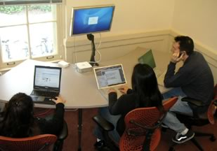 Figure 2. GroupSpace at Toyon Hall