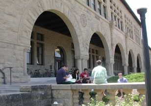 Figure 1. Student Breakout Group Outside Wallenberg Hall