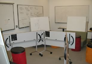 Figure 4. Folding Tables, Stools, and Mobile Chairs in the Classroom