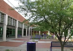 Figure 2. Courtyard