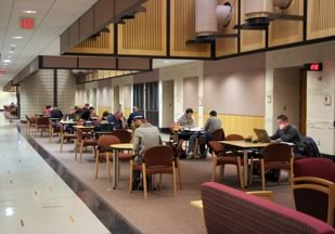 Figure 3. Torgersen Hall Study Court