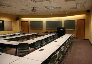 Figure 4. Torgersen Hall Classroom
