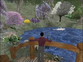 Figure 2. Second Life Avatar Hoptoad Flan