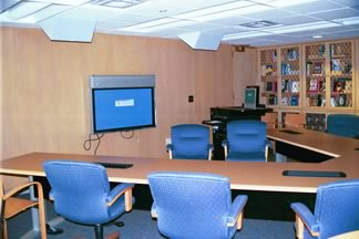 Georgia Tech Information Commons Practice Presentation Room