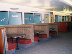 Diner-Style Seating at University of Nevada Las Vegas Library