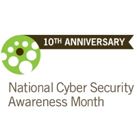 National Cyber Security Awareness Month 10th Anniversary