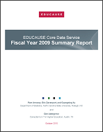 2009 Summary Report Cover