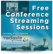 Free Conference Streaming Sessions