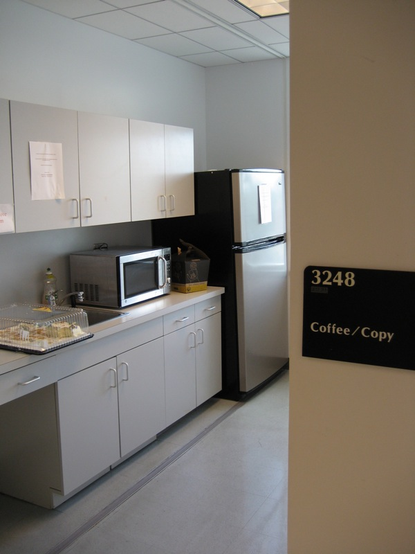 18. Coffee and copy center
