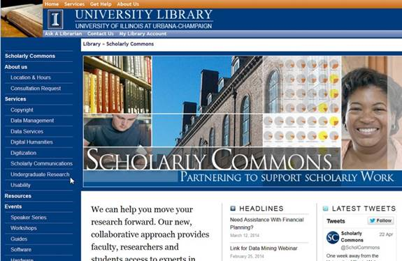 The University Library as Incubator for Digital Scholarship