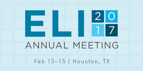 ELI Annual Meeting 2017